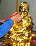 贴金箔_传承千年的黄金贴金打造工艺8