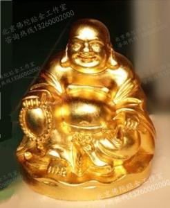 佛像贴金佛像_30-40厘米菩萨佛像24k黄金装身佛像镀金专业企业