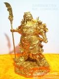 贴金佛像,贴金箔_佛像贴金高90厘米-1米24k黄金